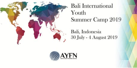 Bali International Youth Summer Camp 2019 tickets