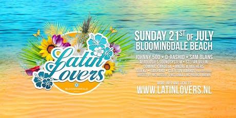 Latin Lovers on the beach tickets