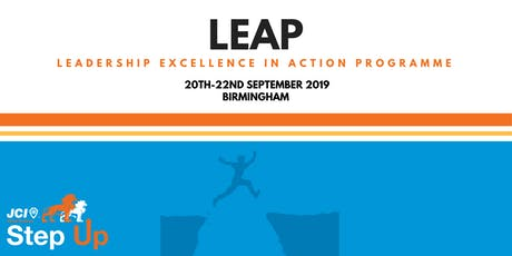 JCI UK LEAP  2019 tickets