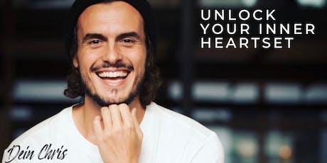 100% YOU - Unlock your inner HEARTset! Authentisch leben und glückliche Beziehungen anziehen Tickets