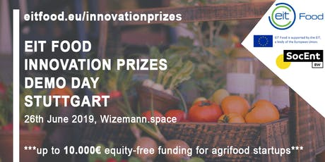 EIT FOOD Innovation Prizes Demo Day Stuttgart Tickets