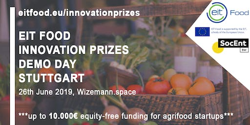 EIT FOOD Innovation Prizes Demo Day Stuttgart