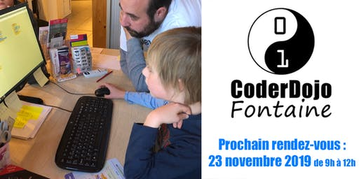 CoderDojo Fontaine - 23/11/2019