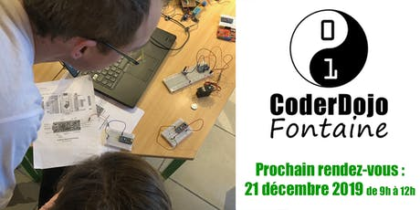 CoderDojo Fontaine - 21/12/2019 billets