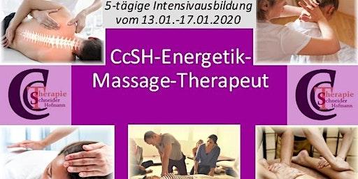 5-tägige Intensiv-Grundausbildung zum CcSH-Energetik-Massage-Therapeut