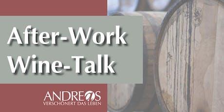 After-Work-Wine-Talk: Neuer Trend: Wermut. Zum pur Trinken oder mixen.  Tickets