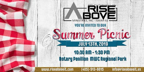 Rise Above Ministries Summer Picnic tickets