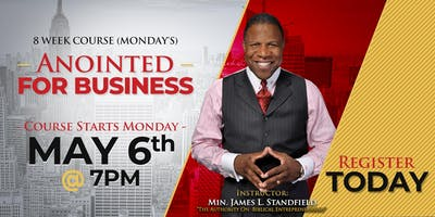 Anointed For Business | Free 8-Week Business Course