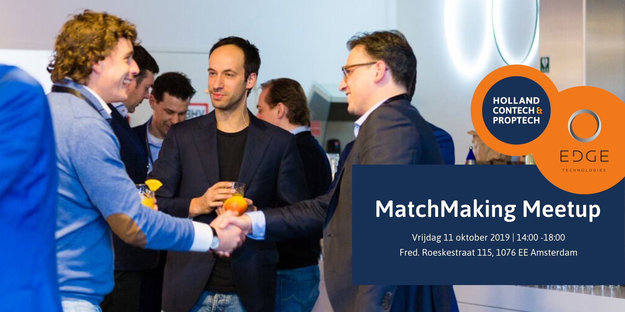 MatchMaking Meetup hosted by EDGE Technologies