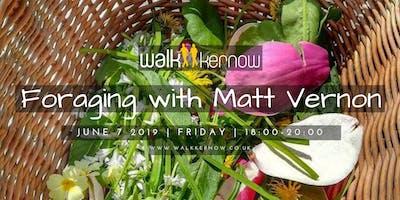 Walk Kernow Members Foraging with Matt Vernon