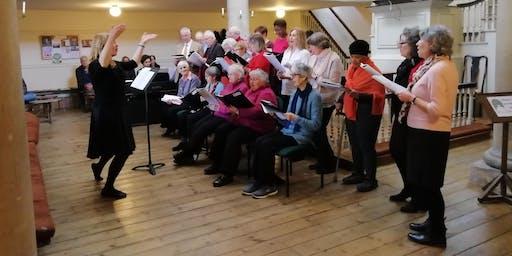 Singing for Wellbeing Workshop