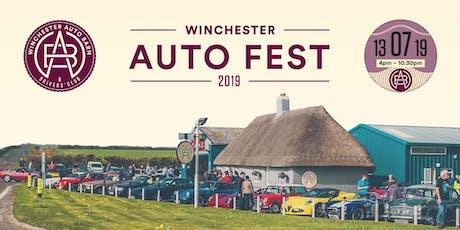 Winchester Auto Fest tickets