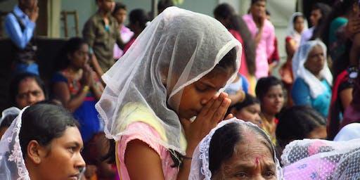 Prayer vigil for victims of Easter Sunday terror attacks in Sri Lanka