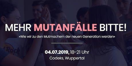 MEIN MUTIGER WEG - Non-Profit Event (Wuppertal) Tickets