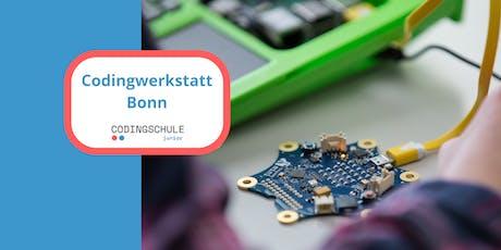 Codingwerkstatt Bonn  Tickets
