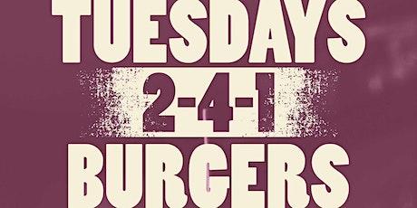 241 Burgers tickets