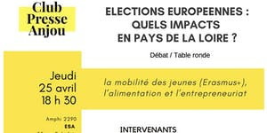 ELECTIONS EUROPEENNES :  quels impacts en Pays de la...