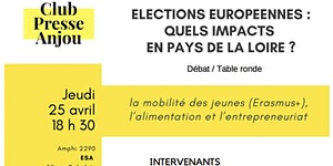 ELECTIONS EUROPEENNES :  quels impacts en Pays de la...