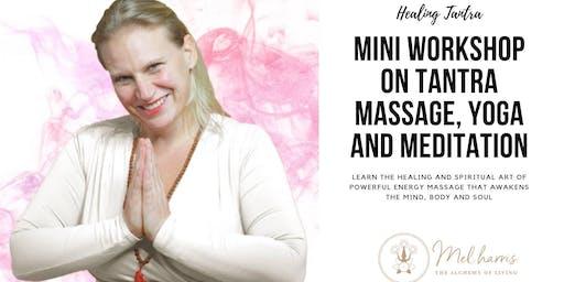 Manchester Mini Workshop on Tantra Massage, Yoga and Meditation