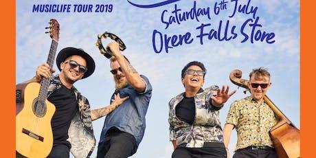 White Chapel Jak @ Rotorua - Okere Falls  tickets