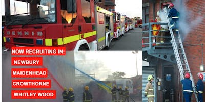 Whitley Wood Fire Station Young Firefighters Have a Go Night