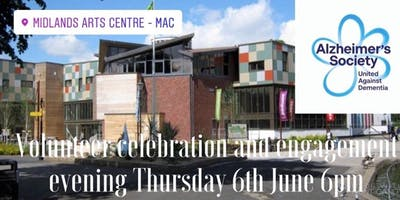 Alzheimer`s Society Volunteer Celebration and African drum workshop