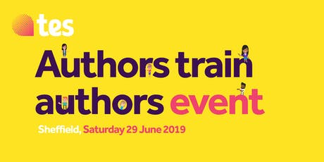 Authors train authors - Sheffield event tickets