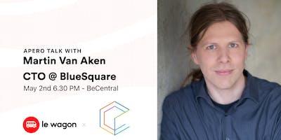 Le Wagon Talk with Martin Van Aken - CTO at BlueSquare