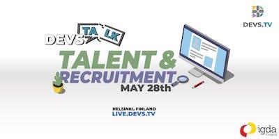 DevsTalk - Talent & Recruiting in Games