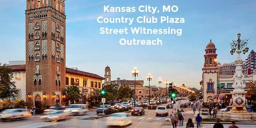 Street Witnessing Outreach - Country Club Plaza - Kansas City, MO