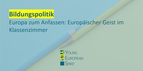 Europäischer Geist im Klassenzimmer | !YES Karlsruhe Tickets