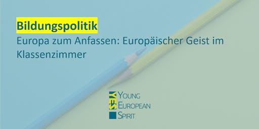 Europäischer Geist im Klassenzimmer | !YES Karlsruhe