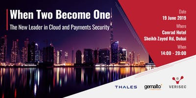 When Two Become One - The New Leader in Cloud and Payments Security