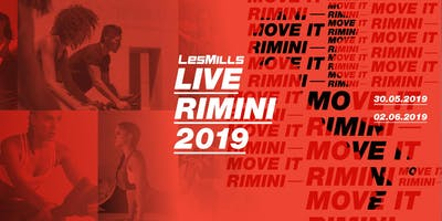 LES MILLS LIVE RIMINI - DOMENICA 02 GIUGNO