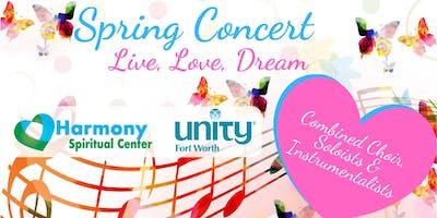 "Spring Concert ""Live, Love, Dream"""