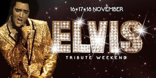 Elvis tribute in Wageningen (Gelderland) 15-11-2019