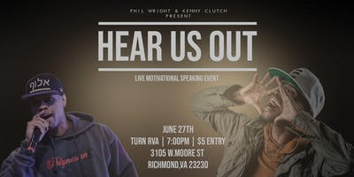 HEAR US OUT | LIVE MOTIVATIONAL SPEAKING EVENT | P