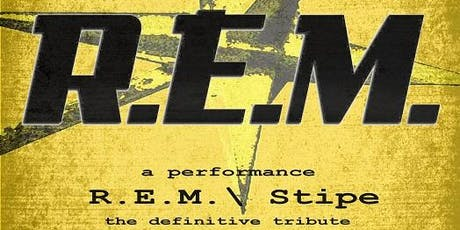 REM BY STIPE-'AUTOMATIC FOR THE PEOPLE tickets