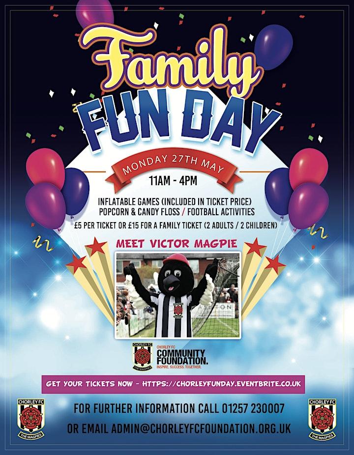 Chorley FC Family Fun Day image