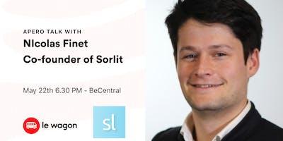 Le Wagon Talk with Nicolas Finet - Co-founder of Sortlist