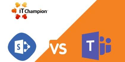 Microsoft Teams vs SharePoint - 5th December 2019