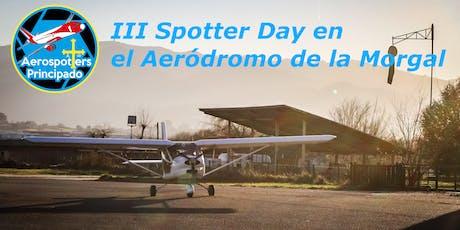 III Spotter Day en La Morgal entradas
