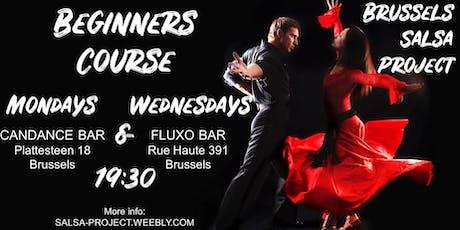 Salsa Beginners Course / Cours Débutants Salsa billets