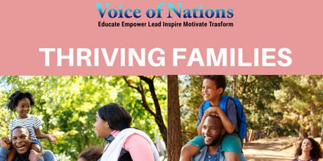 Thriving Families tickets
