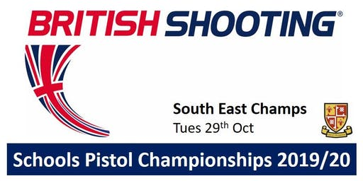 SOUTH EAST Schools Pistol Champs 2019/20