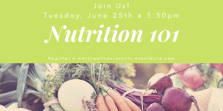 FREE Nutrition 101 Class tickets