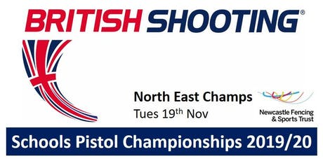 NORTH EAST Schools Pistol Champs 2019/20 tickets