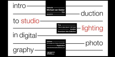 Introduction to Studio Lighting in Digital Photography - 1 Day Workshop