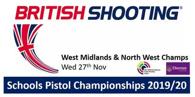 WEST MIDS & NORTH WEST Schools Pistol Champs 2019/20