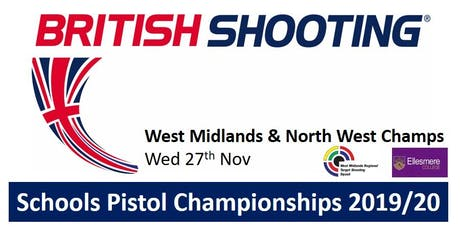 WEST MIDS & NORTH WEST Schools Pistol Champs 2019/20 tickets
